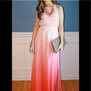 Lauren Conrad ombré maxi dress